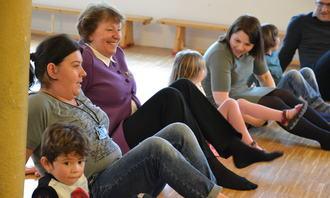 Barnehagedagen 2017 Marianne Borgen, barn og FUB-leder