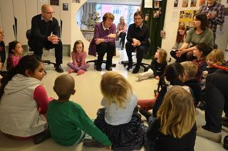 Barnehagedagen 2017 Ordfører og arrangører i Kværnerdalen