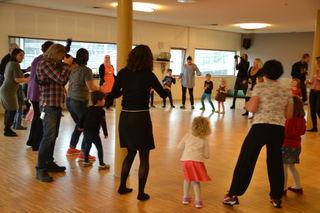 Barnehagedagen 2017 Dans i ring