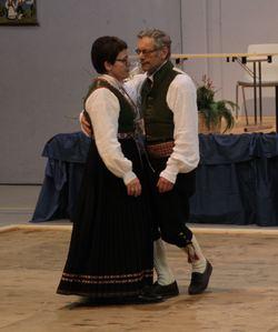 Irene Hestvik og Leon Årdal