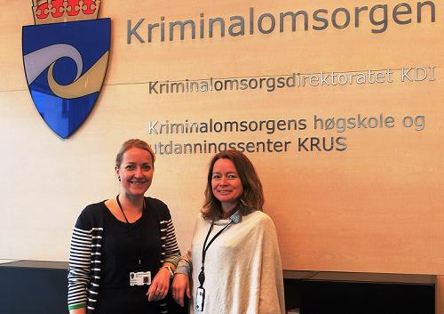 Gro Solbakken (t.v.) og Siv Gaarder, ansvarlige for prosjektet ved KRUS.