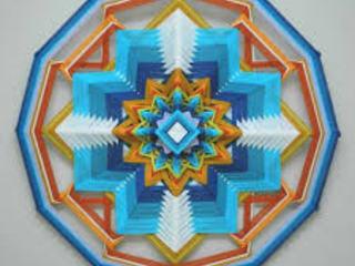 SS2017Wool yarn mandala