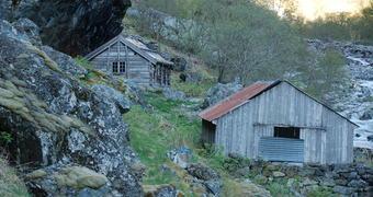 Stien i Aurlandsdalen er open. God Tur !