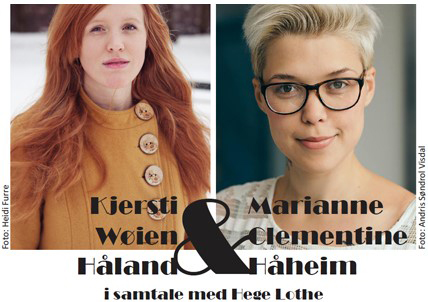Kjersti Wøien Håland og Marianne Clementine Håheim