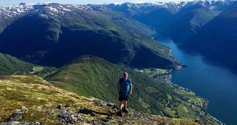 Sommar i fjellet i Aurland