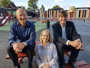 Knut, Susan and Peter, August 2017