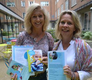 Lou C. Norreen og Åse-Berit Hoffart med haustens utsending