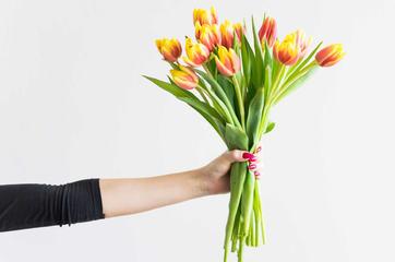 Bukett tulipanar