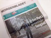Morgenbladet-forside