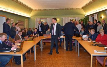 Folksomt i Kommunestyret