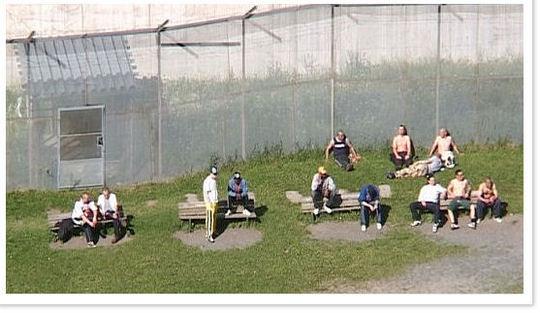 Luftegården i Oslo fengsel