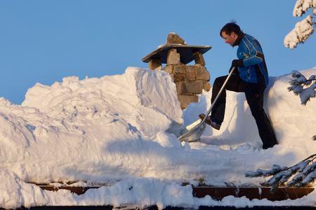 Snømåking tak