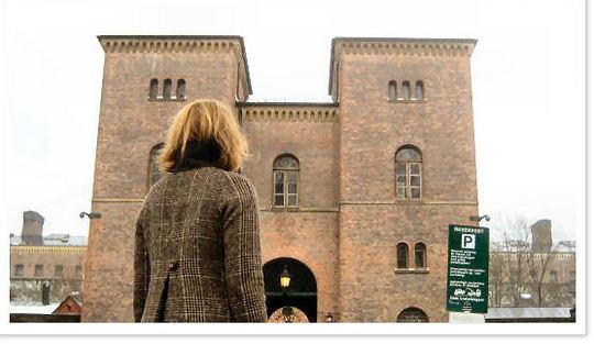 Besøksinngangen avdeling A, Oslo fengsel