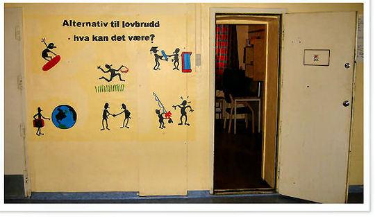Veggmalerier i Oslo fengsel