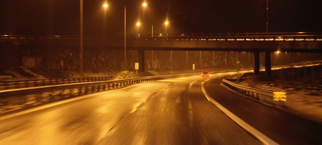 Tunneller Tåke Bilkljøring