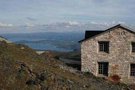 Hovedhuset på Haldde- toppen