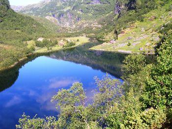 Nesbø og Nesbøvatnet 25.juli 2010 Foto:privat