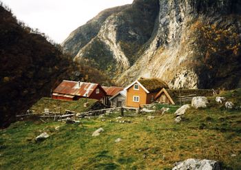 Garden Sinjarheim i Aurlandsdalen 1993 Foto:Privat