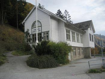 Trudvang ungdomshus 13.10.10 Foto: Aurland kommune