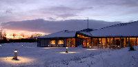 Varanger Samiske Museum, belysning, vinterlandskap, mørketid