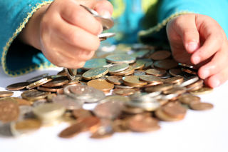 Barnehender og penger
