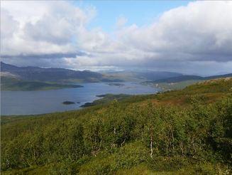 Skogsfjordvannet på Ringvassøya