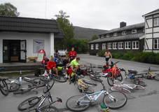 Fra sykkel til rulleski i Olsborg