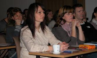 Interesserte foreldre på Foreldrekonferansen