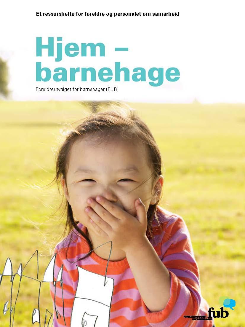 Ressursheftet Hjem - barnehage (bokmål, bilde av forsiden)