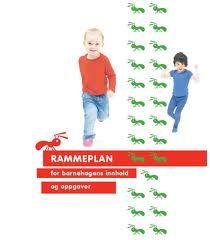 Rammeplan for barnehagens innhold og oppgaver, bilde av forsiden
