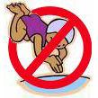 Ikke Svøm logo