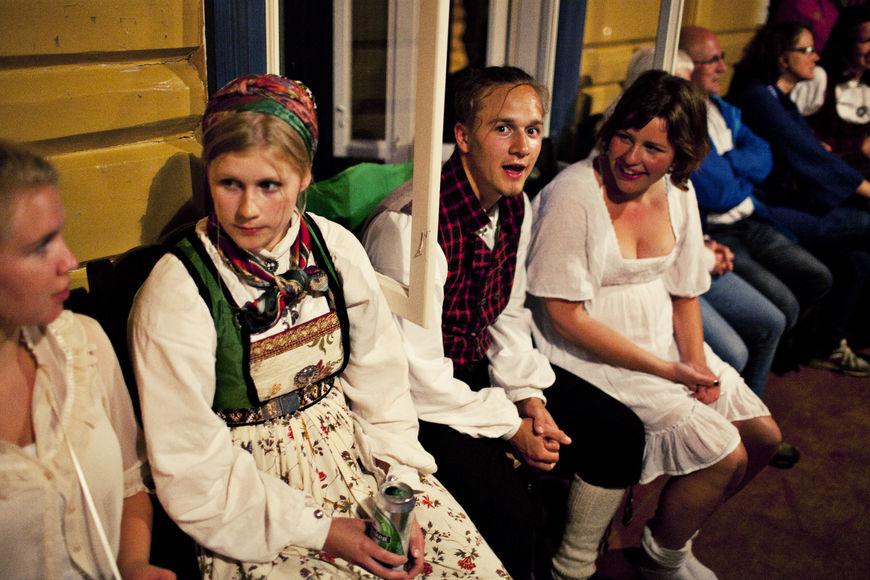 Tora, Marit og Ådne - Hilme 2012