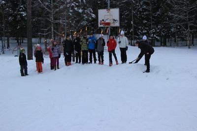 Korsgård skole   vinterOL  043