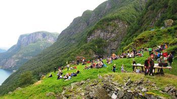 Konsert med Vamp på Stigen august 2013 Foto Noralv Distad