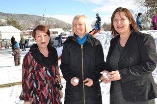 Sissel Solhaug, Ragnhild Lied og Lena Jensen (t.h.)
