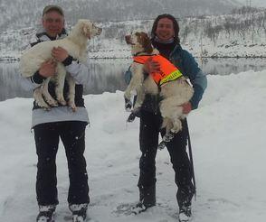 Høgmyrstuas Isa og Rocos Tupsi
