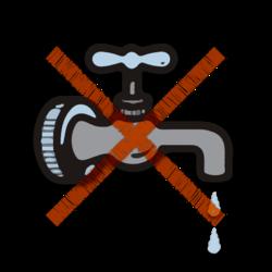Vannavstegning