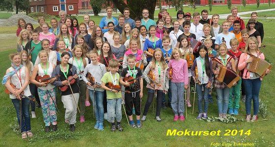 Mokurset 2014. Foto: Einar Eimhjellen