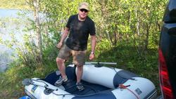 Klargjøring av gummibåt