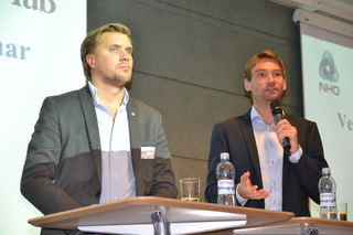 Chr Tynning Bjørnø og Henrik Aasheim