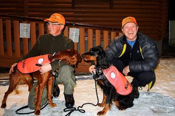 Klubbens mestere anno 2014 Øyvind og Kuling  Sverre og Madonna