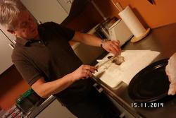 Filetering av rakfisk