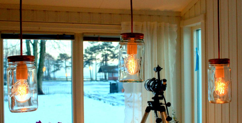 Sånn lager du fine lamper av Norgesglass Hytteavisen