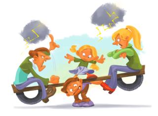Illustrasjon til Barn og brudd