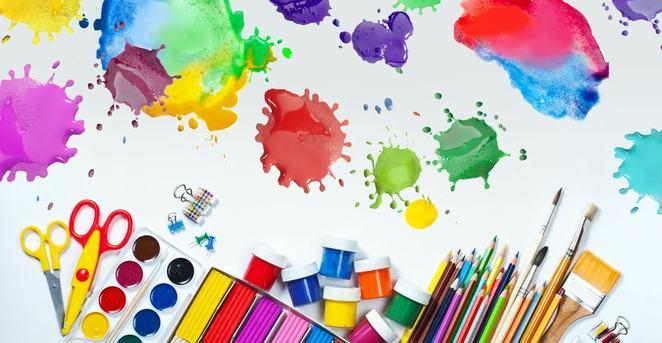 Tegne og maleutstyr