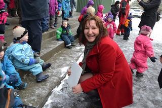 Lena Jensen på Barnehagedagen 2014