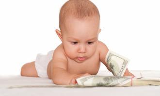 Baby og penger