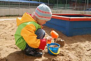 Lek i sandkassen