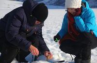 Tromsø Outdoor winter clothing rentals, icefishing