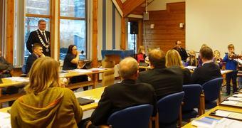 Kommunestyremøtet 17.desember 2015